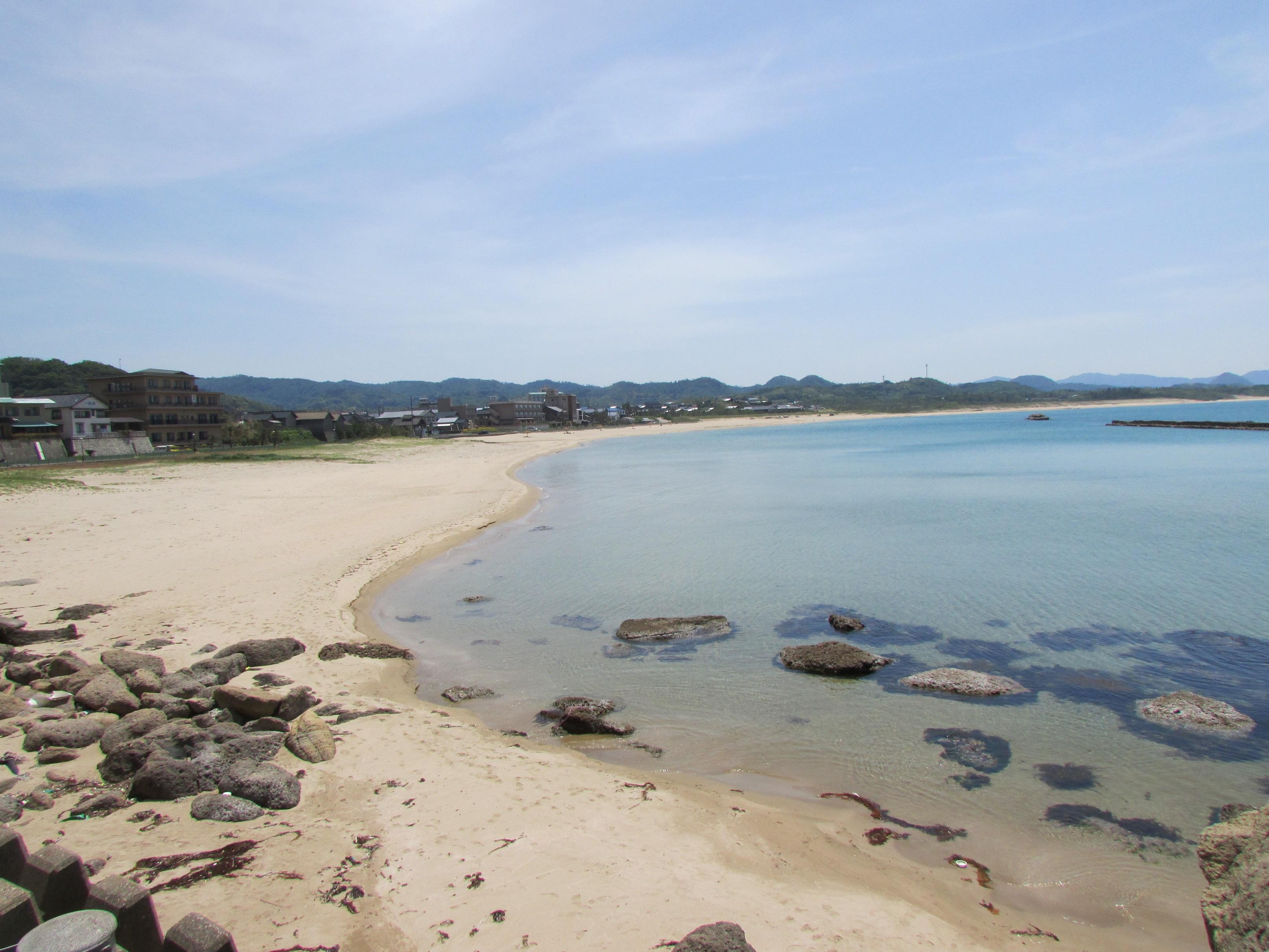 夕日ヶ浦(浜詰海水浴場)