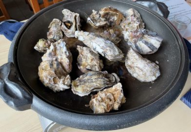 久美浜の牡蠣を食べて栄養を補給してきた